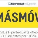 PROMOCIONES MASMOVIL: Tarifa CERO con 2GB por 10,99€/mes en HIPERTEXTUAL y 700MB por 6,9€/mes en XATAKAMOVIL