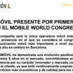 MASMOVIL es valiente y sera la primera OMV en estar en el MOBILE WORLD CONGRESS 2014 con un producto novedoso.