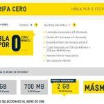 MASMOVIL y ECONOMIZA ofrecen hasta final de Agosto sus tarifas CERO desde 4,5€/1GB 6 meses y tarifa ilimitada 2GB por 34€.