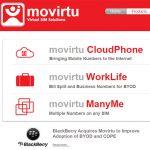 Blackberry compra Movirtu para centrarse en el mundo empresarial.