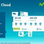MOVISTAR lanza su servicio CLOUD para clientes desde 1€/mes con 20GB o ilimitado espacio por 5€/mes para clientes.
