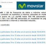 MOVISTAR encarece sus servicios aún más al cobrar hasta 7,5€ adicionales en exceso.