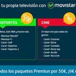 MOVISTAR comercializará el futbol a 9,95€/mes solo hasta final de 2015: luego 25€/mes.