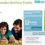 El problema de Fusión MOVISTAR: Su oferta de móvil no adaptable a los clientes.