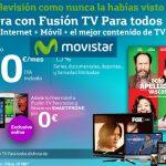 Movistar Fusión TV con unos precios bastante similares a los ofrecidos por ONO.