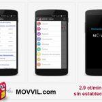 MOVVIL recompensará a los usuarios que inviten a sus amigos.