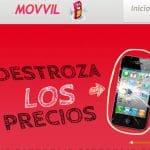 MOVVIL celebra sus 5000 primeros clientes con el doble de saldo: 2€ para probar.