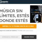 Los clientes de Vodafone pueden contratar Napster con música sin limites al estilo Spotify por 7€/mes.
