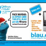Blau: Elimina el 1centimo de sus llamadas entre el los 10 primeros minutos. Blau = Simyo pero con mejores tarifas. La diferencia: El consumo minimo. 2€/mes en Blau frente a sin consumo minimo en Simyo.   BLAU y SIMYO Comparativa.