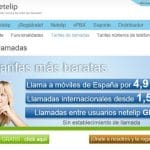 Neteller IP os regala un fijo nacional en el móvil de Madrid o Malaga y os permite llamar a 4,9c/min.
