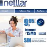Netllar,Una alternativa a Internet en casa desde 9,95€+IVA al mes con 15MB/1MB. ¡Genial!