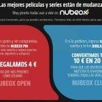 Una alternativa a las descargas ilegales: Nubeox.  Consigue 4€ GRATIS registrándote (1 o 2 películas GRATIS)