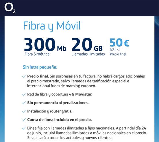 O2 mejora su oferta con ilimitadas en el fijo a móviles