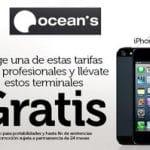 OCEANS subvenciona móviles aceptando permanencias de 24 meses desde 18€/mes un Samsung S II y desde 45€ el Iphone 5 o Samsung S III.