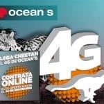 OCEANS va a por todas lanzando 4G y descuento hasta Febrero 20%.
