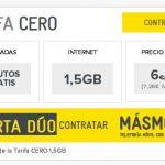 MASMOVIL modifica su oferta DUO con una oferta incréible 6€ 1,5GB de trafico si venimos 2 o traemos un cliente.