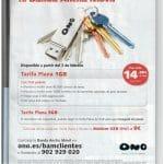 Ono tendrá el 3 febrero la tarifa plana movil más barata del mercado: 1GB 14,9€ + 1,5c/MBextra.