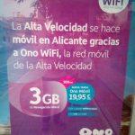ONO lanza una tarifas para los que navegan mucho: 3GB+300 minutos por 20€