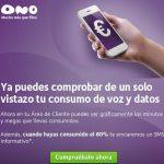 ONO mejorará su panel para ver el consumo de datos. Sigue poniendo en peligro a sus clientes, explicamos los motivos.