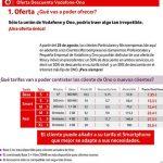 Vodafone lanza un descuento del 30% permanente si somos de Vodafone móvil y de ONO.