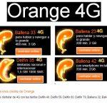Los clientes de Orange con tarifas antiguas de coste superior a 30 euros tendrán 4G.