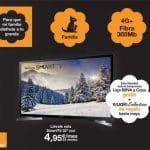 ORANGE subvencionará TVs SAMSUNG y LG sin restricciones de uso a sus clientes.