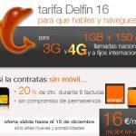 Orange es consciente que debe ofrecer 4G : Ahora su Delfin 16 también tendrá acceso a 4G.