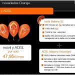 Orange lanza su alternativa a Fusión a partir del 3 de Diciembre desde 42,95€/mes con 200 min+500mb. Lineas adicionales 8€.