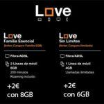 ORANGE se apunta en Febrero 2017 a subidas en LOVE: 2€ a 5€ al mes.