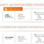 Orange simplifica sus tarifas prepago empeorando algunas de sus tarifas.