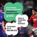 ORANGE regalará la liga si se contrata antes del 20 de septiembre de 2015.