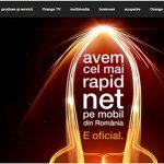 ORANGE el mejor operador en calidad de Internet de Rumania. ¿Cuando lo será en España?