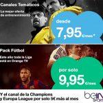 Se estrechan las diferencias con TV en Canguro de ORANGE: +7,95€ TV con ilimitadas.