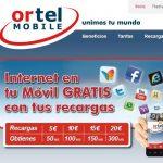 Ortel Mobile lanza un bono nacional por 10€/mes 120 minutos y 750MB de Internet.  (grupo KPN)