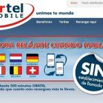 Ortel Mobile saca un bono de navegación de 5€ con 550MB cobrando exceso 8c/MB siendo la operadora con el establecimiento de llamada más elevado nacional: 29c.