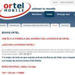 Los bonos ORTEL MOBILE son acumulables y pueden competir con las tarifas de 16€ de la competencia. 240min+1,5GB por 16,52€