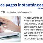 En breve llegarán los pagos instantáneos a Paypal y otros en Europa.