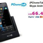 Android Phone, un smartphone que no necesita tarjeta SIM para skype.