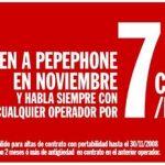 PepePhone: 7c/min con 15c de establecimiento SOLO portabilidades…