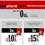 PEPEPHONE lanza un bono de 3GB por 15,9€ con 4G y red MOVISTAR.