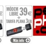 Pepephone dejo de comercializar su tarifa para USB con 3GB de datos por 25€ de forma silenciosa.