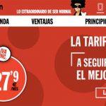 PEPEPHONE lanza una tarifa de 10GB y 1001 minutos por 27,9€