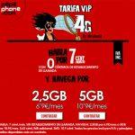 PEPEPHONE mejora la tarifa de @Movilonia VIP: 10,9€ 5GB