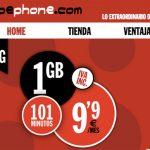 PEPEPHONE añade su primer bono de 101 minutos por 4€. ¡Genial!
