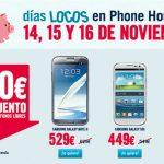 PhoneHouse y los dias locos: 14, 15, y 16 de Noviembre compra un S3 o un Note 2 a precios increibles: De regalo el tablet Samsung de 7″.
