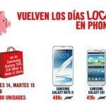 Los días locos de Phone House: Una oportunidad de comprar móviles Samsung de alta gama con buenos precios.