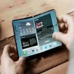 Samsung podría lanzar en el 2017 móviles plegables.