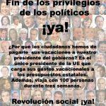 Injusticias sociales en España: ¿Que opinaís?