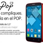 Alcatel Pop C9, un terminal low cost con prestaciones aceptables y 5.5 pulgadas Quad core 1GB.