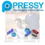 PressyButton un producto que nace por un fallo de los fabricantes de móviles #android.